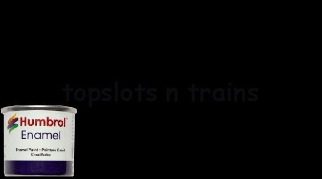 Humbrol Smalto sintetico nero lucido 21 Modellismo