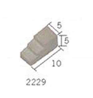 Aedes 2229 SUPP.ALMENA MEDIO 50 PZ Modellismo