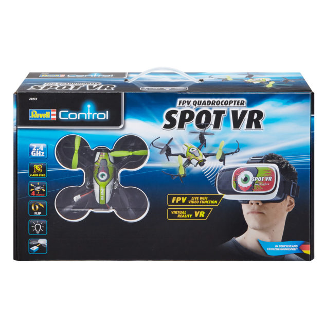 "RevellControl 23872 QUADCOPTER ""SPOT VR"" FPV - w/camera"
