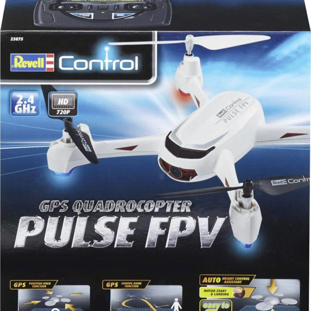 "RevellControl 23875 GPS QUADCOPTER ""PULSE FPV"" - w/camera - Follow me"