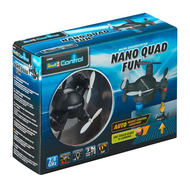 RevellControl 23888 QUADCOPTER NANO QUAD FUN Black