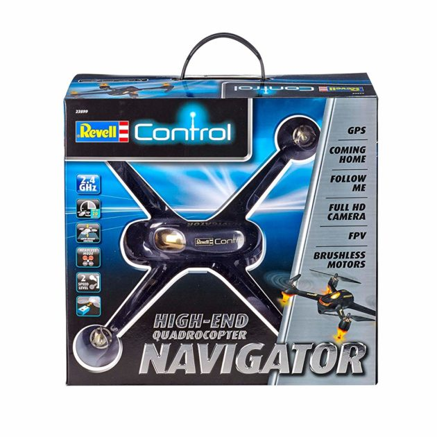 RevellControl 23899 GPS QUADCOPTER NAVIGATOR  FPV - w/camera - Follow me