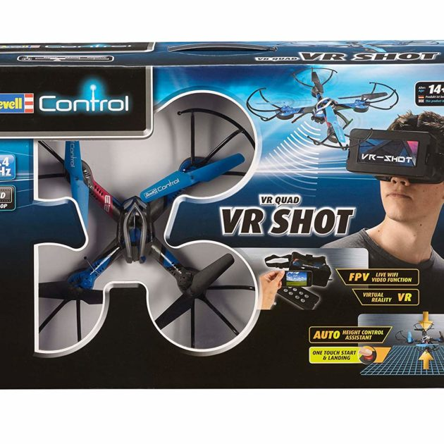 RevellControl 23908 QUADCOPTER VR-SHOT FPV - w/camera