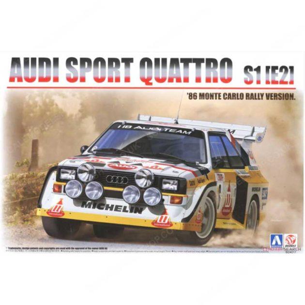 Beemax 24017 AUDI SPORT 4 S1 Rally Montecarlo 1986