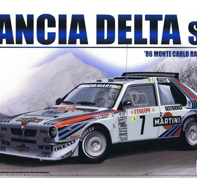Beemax 24020 Lancia Delta S4 Rally Montecarlo 1986