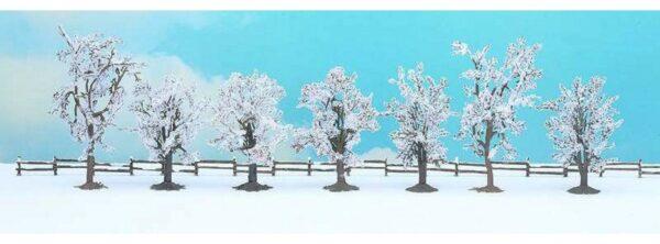 Noch 25075 Conf. 7 alberi invernali Modellismo