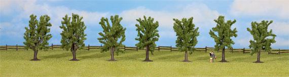 Noch 25088 Set 7 alberi frondiferi Modellismo