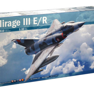 ITALERI 2510 Aereo in kit MIRAGE III E/R  - incude super decal e fotoincisioni - scala 1/32