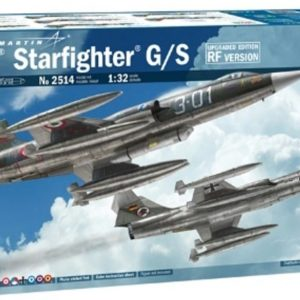 """Italeri 2514 1/32 F-104G """"Recce"""" (upgraded edition) Modellismo"""