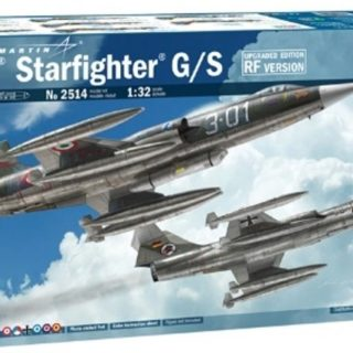 "Italeri 2514 1/32 F-104G ""Recce"" (upgraded edition)"