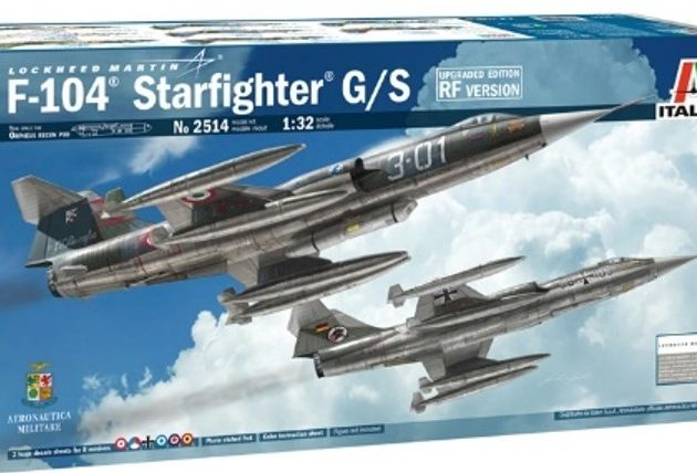 """Italeri 2514 1/32 F-104G """"Recce"""" (upgraded edition)"""
