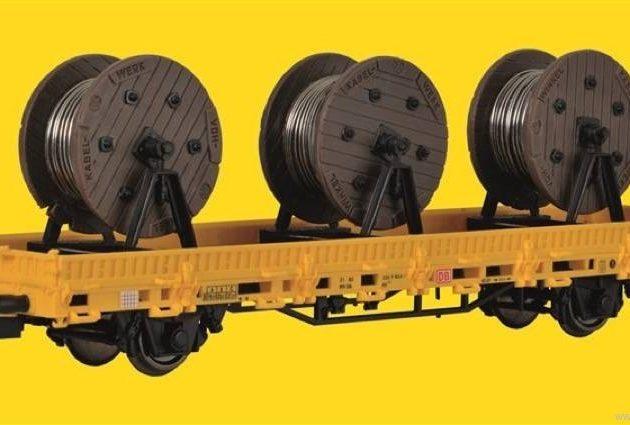 Kibri 26269 Carro con 3 bobine Modellismo