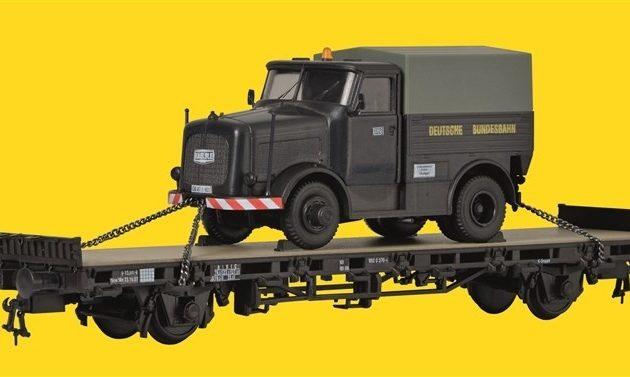 Kibri 26270 Pianale con camion KAELBE Modellismo