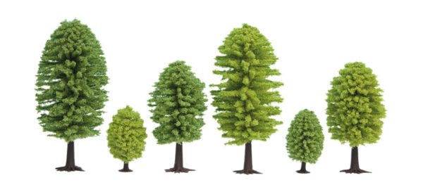 Noch 26801 alberi 25 pz. 5-9 cm Modellismo