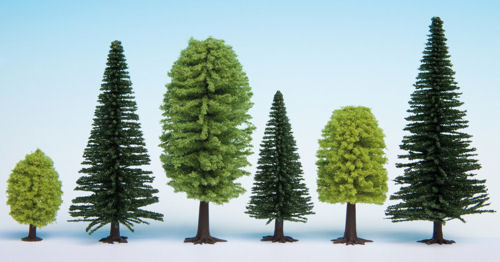 Noch 26811 alberi misti 25 pz 5-14 cm Modellismo