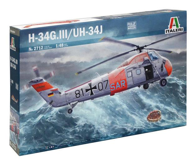 Italeri 2712 H-34G. III / UH-34J Modellismo