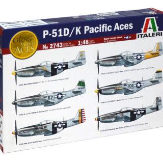 ITALERI 2743 P51 D / K  Pacific Aces
