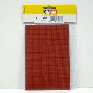 Brawa 2867 Pavimento in mattoni 2 pezzi Modellismo