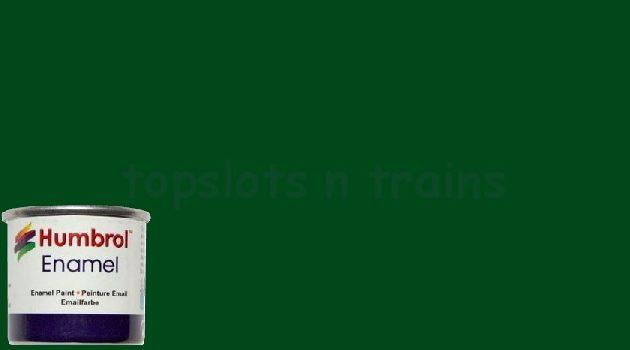 Humbrol Smalto sintetico verde scuro lucido 3 Modellismo