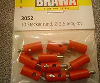 Brawa 3052 Spine a banana rosse (10 pz) Modellismo