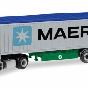 "Herpa 308441 MAN TGX XLX ""EKB/Maerrsk"" Modellismo"