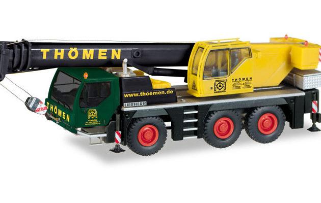 Herpa 308632 Liebherr LTM 1045/1 Gru mobile Modellismo