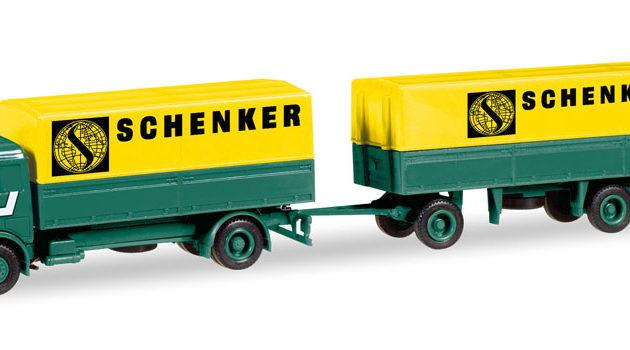 """Herpa 308687 Mercedes Benz """"Scheker"""" Modellismo"""