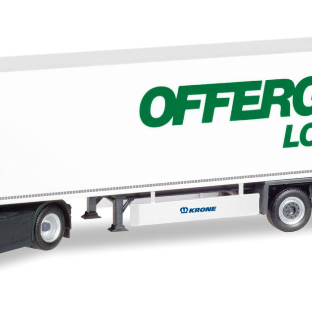 "Herpa 308755 Scania CR HD ""Offergeld Logistick"" Modellismo"