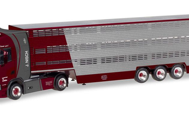 "Herpa 309264 Scania CS HD trasporto animali ""Nisch"" Modellismo"