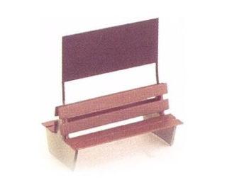 WEINERT 3229 Panchina in ottone fotoinciso Modellismo