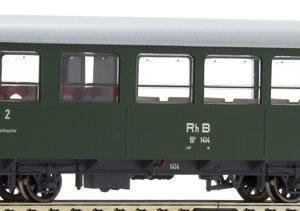 Bemo 3233124 Carrozza passeggeri RhB B2 1414 ex AB2
