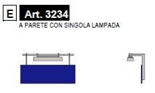 Essemme 3234 Cartello di stazione illuminato A PARETE  Modellismo