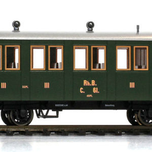 Bemo 3234111 Carrozza passeggeri RhB C.61 (1895-1899)
