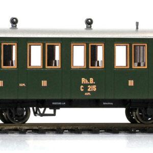 Bemo 3234127 Carrozza passeggeri RhB C.207 (1899-1909)