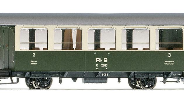 Bemo 3238111 Carrozza passeggeri RhB C 2081