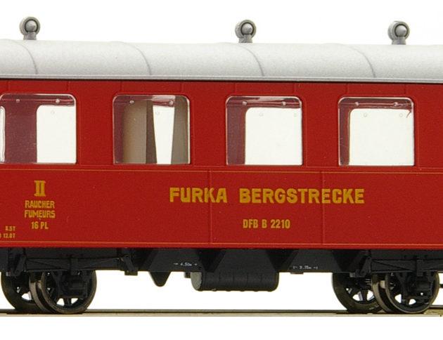 Bemo 3239280 Carrozza passeggeri DFB B 2210