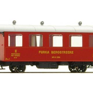Bemo 3239284 Carrozza passeggeri DFB B 2204