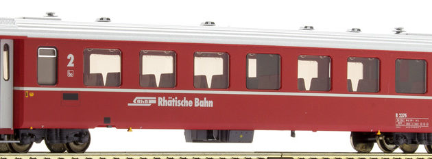 Bemo 3240153 Carrozza passeggeri RhB B 2375