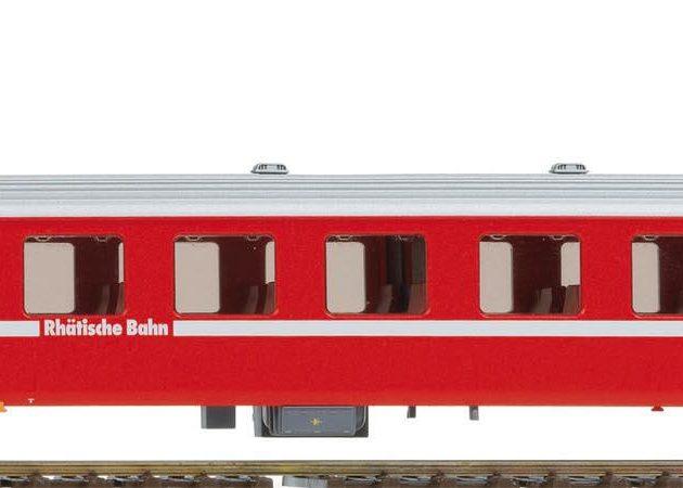 Bemo 3240163 Carrozza passeggeri RhB B 2423