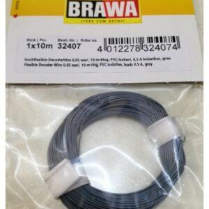 Brawa 32407 Cavetto grigio per decoder Modellismo