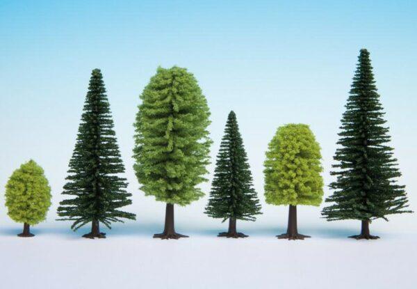 Noch 32911 alberi misti 10 pz