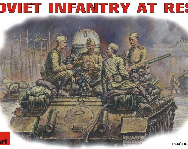 MINIART 35001 Soviet Infantry At Rest.  Modellismo