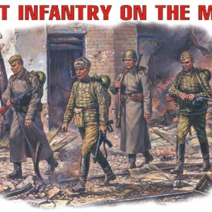 MINIART 35002 Soviet Infantry On March. Modellismo