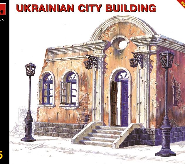 MINIART 35006 Ukrainian City Building Modellismo