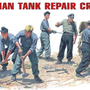MINIART 35011 German Tank Repair  Crew Modellismo