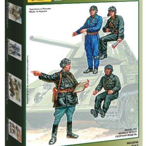 ZVEZDA 3504 Soviet Tank Crew