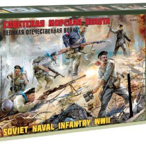 ZVEZDA 3520 Soviet Naval Infantry Wwii