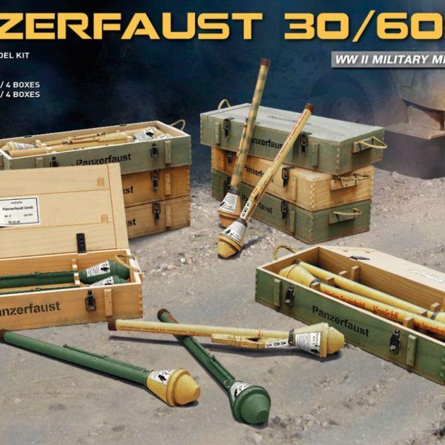 Miniart 35253 PANZERFAUST 30/60 SET