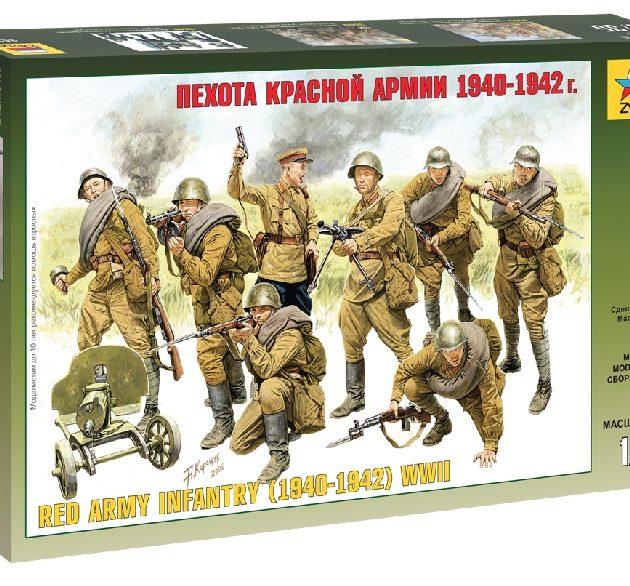 ZVEZDA 3526 Red Army Infantry (1940-42)