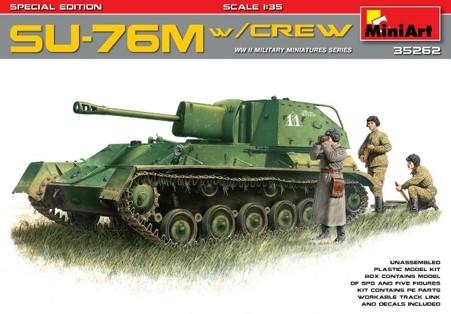 Miniart 35262 SU-76M w/Crew Special Edition